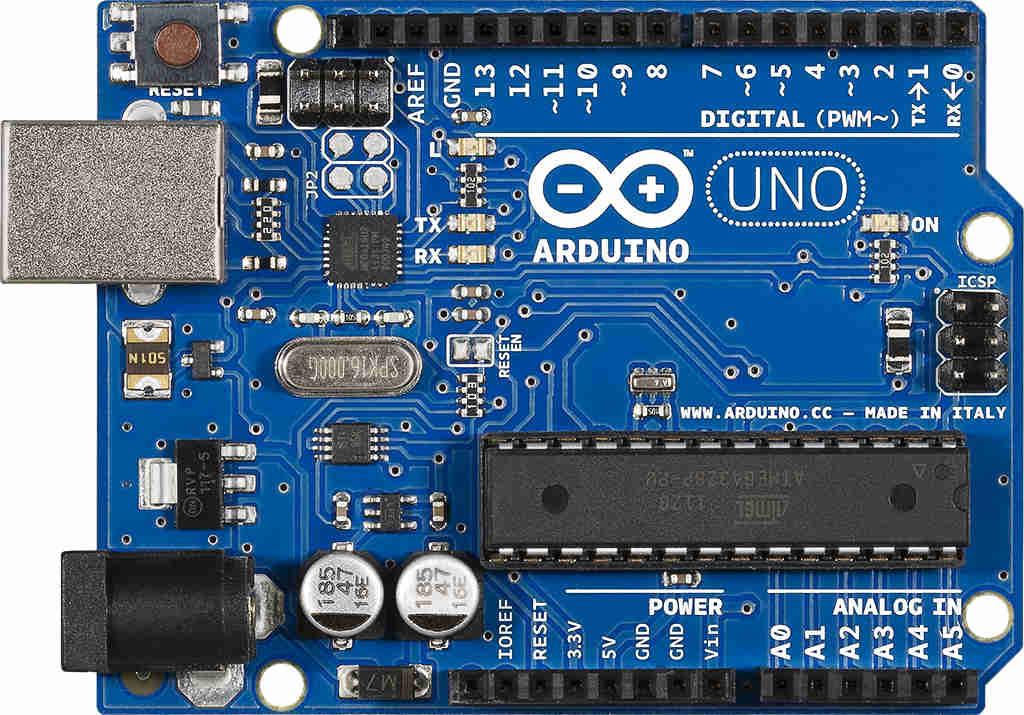 фото контроллера arduino uno