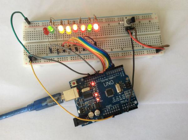 вариант использования потенциометра в проектах с микроконтроллерами ардуино