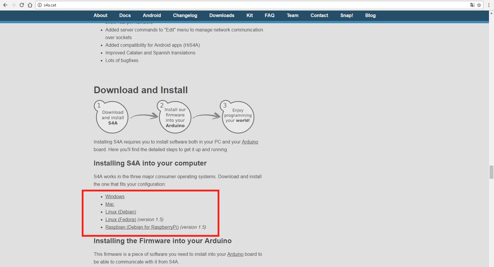 программирования Arduino для того чтобы вы разобрались как с ним работать Заходим на сайт проекта https4acat